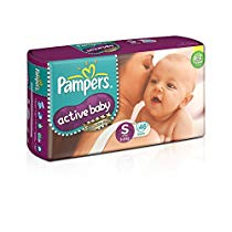 Get Pampers Active Baby Small Size Diapers (46 Count) at Rs 510 | Amazon Offer