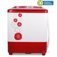 Get Panasonic 6.5 kg Semi Automatic Top Load Washing Machine Red at Rs 7999 | Flipkart Offer