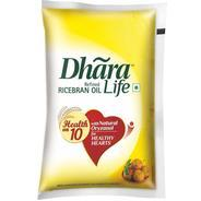 Get Pantry - Dhara Rice Bran Oil, 1L Pouch at Rs 85 | Amazon Offer