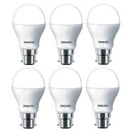 Get Philips 9 W B22 LED Bulb (White, Pack of 6) at Rs 799 | Flipkart Offer