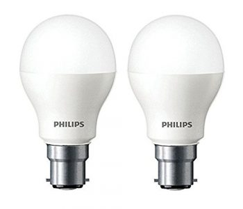 Get Philips Base B22 7-Watt LED bulb (Cool Day Light,Pack of 2) at Rs 149   Amazon Offer