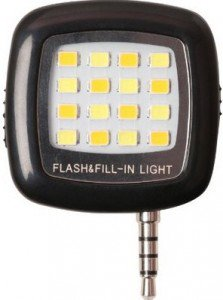 Get Photron FL100 Portable 16 LED Selfie Enhancing Dimmable Flash Fill-in Light      india at Rs 179