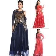 Get Pick Any 1 Readymade Embroidered Gown By Khwaaish at Rs 999 | homeshop18 Offer