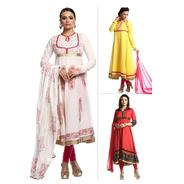 Get Pick Any 2 Anarkali Suit By Rumara at Rs 2199 | homeshop18 Offer