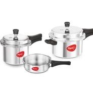 Get Pigeon Special Combo Pack 2 L, 3 L, 5 L Pressure Cooker at Rs 1629 | Flipkart Offer