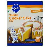 Get Pillsbury Eggless Cooker Cake Mix, Vanilla 159g at Rs 49 | Amazon Offer