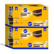 Get Pillsbury Pastry Cake, Chocolate, 2 x 12 Pack, 600g at Rs 149 | Amazon Offer