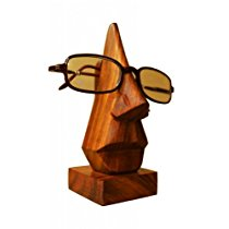 Get Pindia Hand Crafted Wood Spectacle Holder at Rs 124 | Amazon Offer