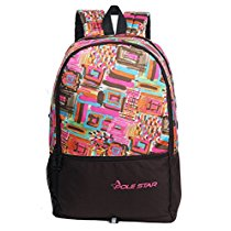 Get POLE STAR HERO Polyester 32L Pink & Brown Casual Backpack at Rs 425 | Amazon Offer