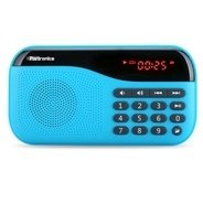 Get Portronics Speaker With FM radio & MicroSD card Support POR142 Blue at Rs 849 | Amazon Offer