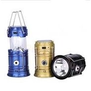 Get Premsons 6 LED Solar Power Camping Lantern Rechargeable Hiking Flashlight at Rs 290 | Amazon Off