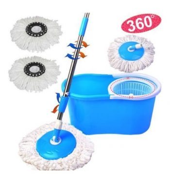 Get Premsons Spin Mop & Bucket Magic 360 Degree Cleaning + 2 Microfiber Refills at Rs 499 | Amazon O