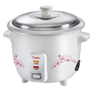 Get Prestige Delight PRWO 1.0 1-Litre Electric Rice Cooker      at Rs 1021 | Amazon Offer