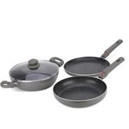 5dd342aaf0c Get Prestige Omega Festival Pack - Build Your Kitchen Set Induction Bottom  Cookware Set (Aluminium