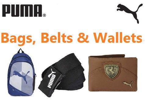 Get Puma Bags & Wallets Min 70% off   at Rs 360   Flipkart Offer