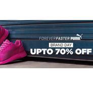 Get Puma Clothing & Footwear Upto 70% OFF | Jabong Offer