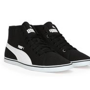 f11f107368c Get Puma Elsu v2 Mid CV IDP Mid Ankle Sneakers (Black) at Rs 1199 ...