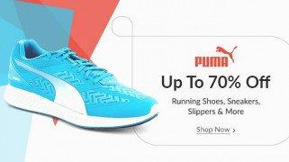 Get Puma Footwear 70% off   at Rs 239 | Flipkart Offer