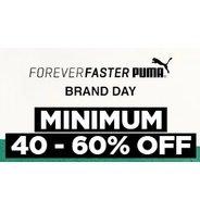 Get Puma Store Minimum 40% - 60% OFF   Jabong Offer