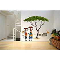 Get Rawpockets African Jungle Story' Wall Sticker at Rs 239 | Amazon Offer