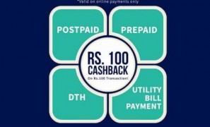 Get Recharge & Bill Payment upto  100 cashback   at Rs 500 | Freecharge Offer
