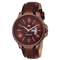 Get Redux Analogue Brown Dial Men and Boy Watch at Rs 399 | Amazon Offer