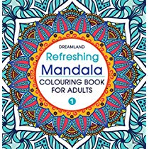Get Refreshing Mandala – Colouring Book For Adults Book 1 at Rs 125 | Amazon Offer