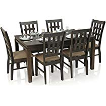 Get Royal Oak Daisy Six Seater Dining Table Set at Rs 28399 | Amazon Offer