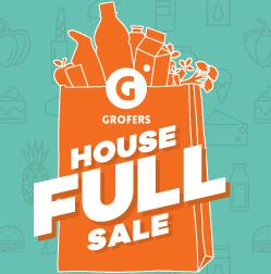 Get Rs 100 Cashback on Rs 1500 and Rs 200 Cashback on Rs 2000 at Grofers