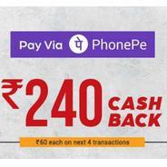 Get Rs.240 Cashback at Box8 Using Pay Via Phonepe | Box8 Offer