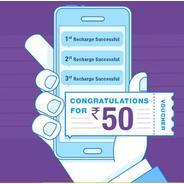 Get Rs.50 Bookmyshow Voucher On Every 3rd Recharge Of Rs.100 On ICICI Pockets | icicibank Offer