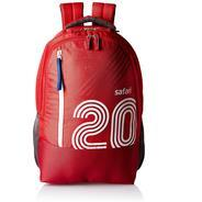 Get Safari 27 Ltrs Red Casual Backpack (Twenty) at Rs 589 | Amazon Offer