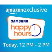 Get Sale at 13PM - Samsung Happy Hours Offers On Mobiles | Amazon Offer