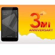 Get Sale Live - Redmi 4 Smartphone Start Rs.6999 + Extra 5% Cashback Using SBI Debit Card | Amazon O