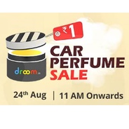 Get Sale on 24th Aug. Droom Car Perfume Rs.1 at Rs 1 | droom Offer