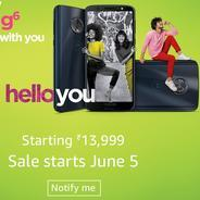 Get Sale Start on 5th June - Moto G6 Smartphone Start Rs.13999 at Rs 13999 | Amazon Offer