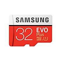 Get Samsung EVO Plus Grade 1, Class 10 32GB MicroSDHC 95 MB/S Memory Card with SD Adapter (MB-MC32GA
