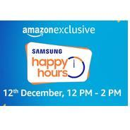 Get Samsung Happy Hours Offers On Mobiles | Amazon Offer