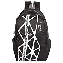 Get Sassie Black & Gray Smart School Bag (21 Litres) (SSN-1033) at Rs 254 | Amazon Offer