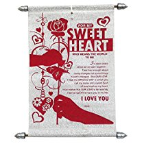 Get Saugat Traders Love Scroll Card (Red) at Rs 284 | Amazon Offer