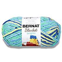 Get Save on Bernat 16121212007 Blanket BrightsYarn – (6) Super Bulky Gauge – 10.5 oz – Pow Pur