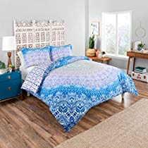 Get Save on Boho Boutique Serene Comforter Set, King, Blue and more at Rs 1967 | Amazon Offer