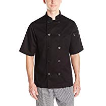 Get Save on Chef Code Men's Short Sleeve Unisex Classic Coat, Black, Large and more at Rs 1697 | A