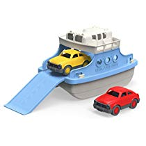 Get Save on Green Toys Ferry Boat with Mini Cars Bathtub Toy, Blue/White and more at Rs 1690 | Amazo