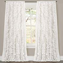 Get Save on Lush Decor Belle Curtain, 84 x 54-Inches, White and more at Rs 2575 | Amazon Offer