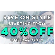 Get Save on Style Minimum 40% OFF One Day Only | koovs Offer