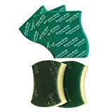 Get Scotch-Brite Scrub Sponge Large (Pack of 2) and Scrub Pad Large (Pack of 3) at Rs 90.31   Amazon