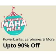 Get Shopclues Accessories Maha Mela - Powerbanks, Earphones & More Upto 90% OFF | Shopclues Offer