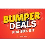Get Shopclues - Bumper Deals Flat 80% OFF | Shopclues Offer