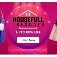 Get Shopclues Housefull Tuesdays - Upto 80% OFF | Shopclues Offer